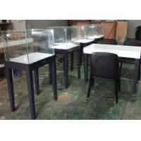 China Large Qty Exhibition Display Cases Matte Gray Color Modern Simple Design wholesale