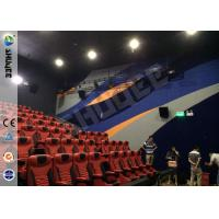 China Brand Speaker Large Screen 4D Motion Chair With Pneumatic System For 150 Seats wholesale