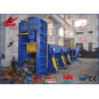 China China WANSHIDA Metal Baler Shears Hydraulic Shear Baler Machine Chamber Size And Bale size Customized wholesale