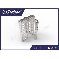 China Automatic Bidirectional Full Height Turnstile 304 Stainless Steel Housing wholesale