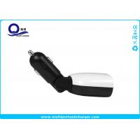 China 45- Degree Flexible Phone Car Charger 4.8A 2 x USB output and LED Screen Display wholesale