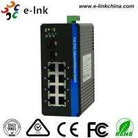 Buy cheap Unmanaged Industrial Ethernet POE Switch: 8 10 / 100 / 1000M POE Ports with 2 Gigabit SFP Uplink Ports from wholesalers