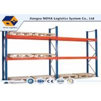 China Corrosion Protection Pallet Warehouse Racking With Free Post Base Plate wholesale