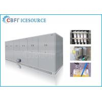 Buy cheap 10 tons Easy Operation Edible Ice Cube Making Machines Large Production from wholesalers