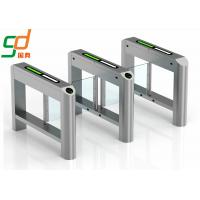 China High-Class Automatic Turnstiles  Swing Barrier  For Pedestrains and Motor Bikes on sale