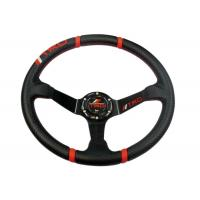 China Rubber Universal Racing Steering Wheel With Good Operation Performance wholesale