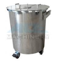 Quality Vertical SS Moveable Sealed Cosmetic Product Lotion Storage Tank Mobile Oil Storage Tank for sale