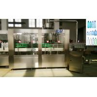 China Mineral / Drinking water Plastic Bottle Filling Machine With Screw / Sport Cap wholesale