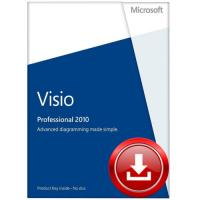 Quality 3.0 USB Microsoft Office Visio Professional 2010 Free Download FPP Version for sale
