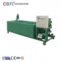 China 1000Kg - 100000Kg Capacity Ice Block Machine With PLC Controller wholesale