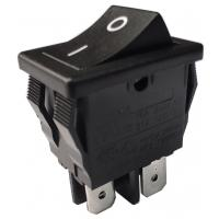 China R19-2 Rocker Switch Ambient Temperature T85/T105 6A/12A/16A 250V AC PA66/PC wholesale