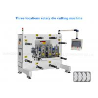 China OCA Film Three Stations rotary die cutting equipment for PVC PET label wholesale
