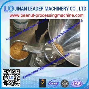 China 1000-1500kg high capacity automatic peanut grinding machine for sesame/peanut/nuts tahini wholesale