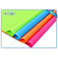 China Red Orange Colorful PP Spunbond Non Woven Fabric Shopping Bag Making Material wholesale