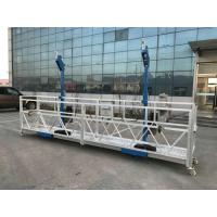 China L Stirrup Suspended Working Platform Zlp Series With Centrifugal Safety Lock wholesale