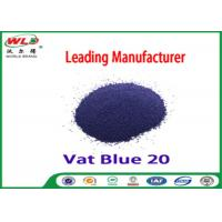 China C I Vat Blue 20 Dark Blue Bo Dyeing Of Cotton With Vat Dyes AAA Credit wholesale