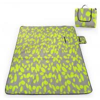 China Eco Friendly Green Folding waterproof Picnic mat Blanket for Travel / Leisure wholesale