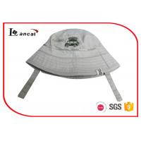 China Little Car Embroidery Fishing Bucket Hat , Camo Inner Brim Cotton Bucket Hat wholesale