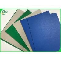 China Single Side Color Cover Coated Grey Back 1.2mm  2.5mm Duplex Straw Board Sheets wholesale