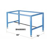 """Quality Height Adjustable Heavy Duty Industrial Workbench Blue Color 60"""" Wide 36"""" Deep for sale"""