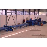 China Economical high mast light pole production line / Cutting Machine for light pole 12000mm wholesale