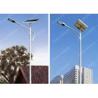 China Color Temp 6000K Solar Energy Street Light With Excellent Performance on sale