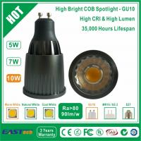 Buy cheap 10W GU10 COB Spotlight (High Bright) - Warm White from wholesalers