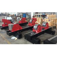 China HGK-100 Conventional Automatic Pipe Welding Rotator With  Double Motor Powered And Rubber Wheels wholesale
