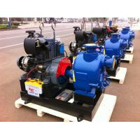 China Trailer air cooled deutz diesel engine fire pump 80hp self priming water 300GPM wholesale