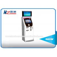 Buy cheap Cash Acceptor Moving Self Service Ticket Vending Machines With Thermal Printer from wholesalers