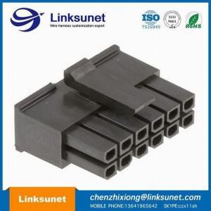 Quality MOLEX Microfit Lift Automotive Wiring Harness 3.0MM PICH 43025 - 0600 VDE for sale
