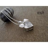 China Zircon + sterling silver gemstone pendant with zircon as best gift to friends W-VB912 wholesale