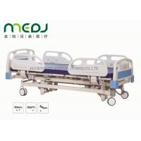 China Adjustable Electric Hospital Bed MJSD04-01 ABS Steel Frame With 3 Functions wholesale