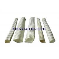 China White Color Wall Braided Heat Insulation Sleeve Flame Retardant 2.0 - 150mm wholesale