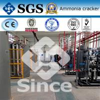 China Automatic Ammonia Cracker for Hydrogen Generation , 5-1000Nm3/h Capacity wholesale