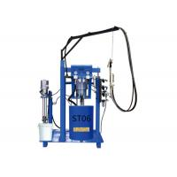 China 2 Components Glue Pumps Manual Sealant Spreading Machine For Double Glazing Making wholesale
