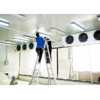 Buy cheap Supermarket Cold Room Floor Construction , Coffee Shop Walk In Cold Room from wholesalers