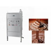 China 250L Continuous Chocolate Bar Production Line  Chocolate Tempering Equipment wholesale