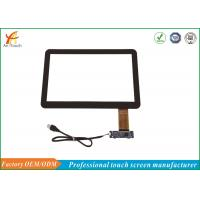 China Black Border 14 Inch POS Touch Panel Capacitive Multifunction With USB Connector wholesale