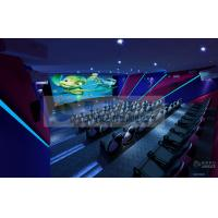 China Attractive 5D Movie Theater with 7.1 / 5.1 Audio System and Pipes , 6D 7D XD Cinema wholesale