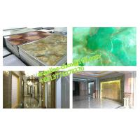 China Low cost, easy installation PVC marble wall panel extrusion and laminating production line wholesale