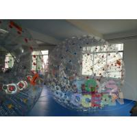 China Bouncy Adults Waterproof Inflatable Sports Games Bumper Ball For Rent wholesale
