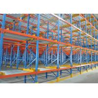 Quality Low Price Adjustable Carton Flow Rack Warehouse Shelving Unit for sale