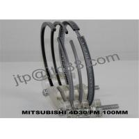 China Car Engine Rings 4D30 Engine Piston Rings Replacement With Dia 100mm wholesale