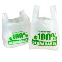 China Convenient Biodegradable Refuse Bags , Disposable Compost Bags 1 Or 2 Sides Printing wholesale