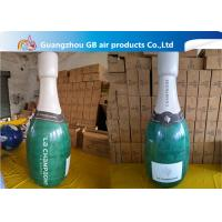 China Promotional Pvc Inflatable Champagne Bottle / Inflatable Beer Bottle For Sale wholesale