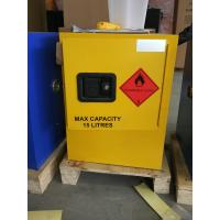 China 12 GAL Vented Chemical Storage Cabinets With Double Layer For Flammable Goods wholesale
