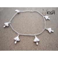 China Fashion Jewelry 925 Sterling Silver Bracelet with Zircon W-VK542 wholesale