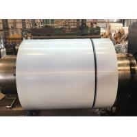 China Roof Color Coated Steel Coil Grey / Other Color Zinc Layer 40 - 275g wholesale