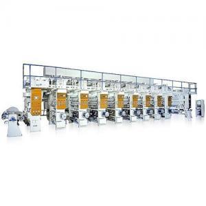 China Heavy Duty Rotogravure Printing Press on sale